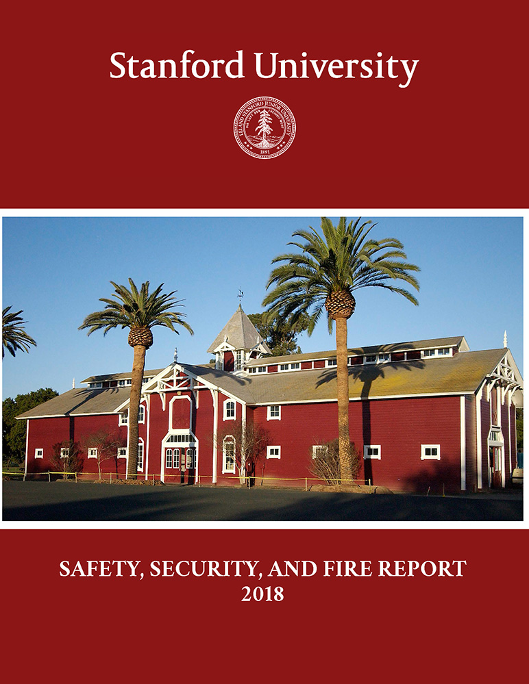 Stanford University Safety and Security Report PDF